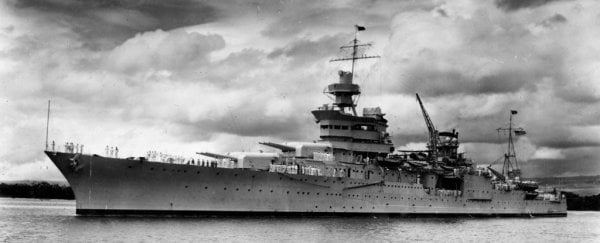 Lost WWII wreckage of the USS Indianapolis has finally been found after 72 years