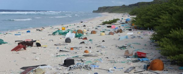 This tiny remote island has been named the most plastic-polluted place on Earth