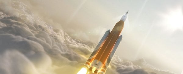 NASA is planning to send a human crew on the first launch of its most powerful rocket ever