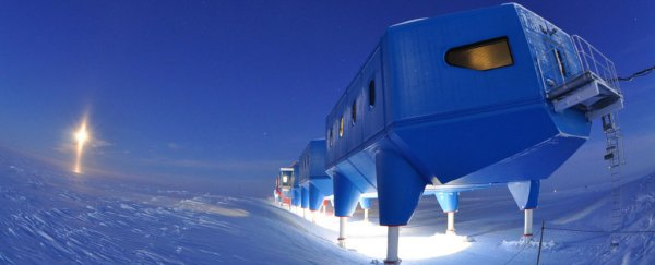 A massive chasm in Antarctica's ice is threatening to cut off a crucial research station