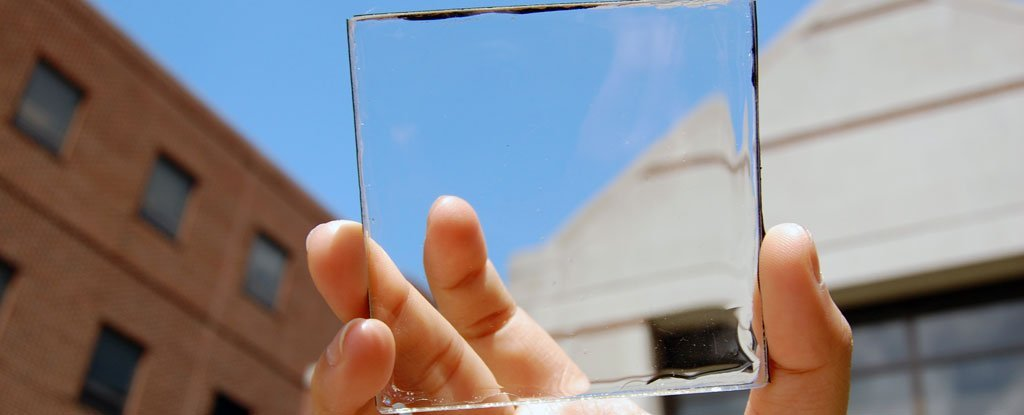Transparent Solar Cells Like This Could Deliver 40% of America's Power