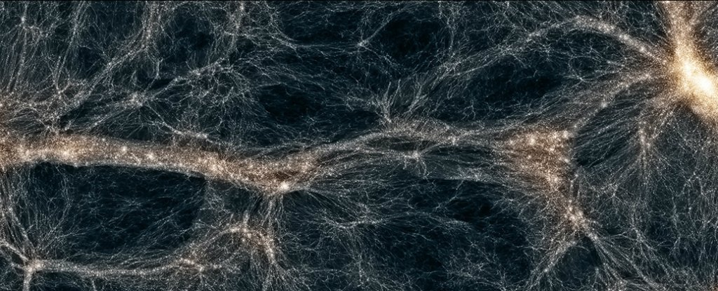 New Model Suggests Dark Matter Acts Uncannily Like Particles Found in The 1930s