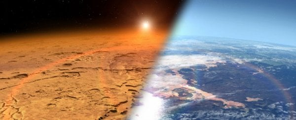 NASA Wants to Launch a Giant Magnetic Field to Make Mars