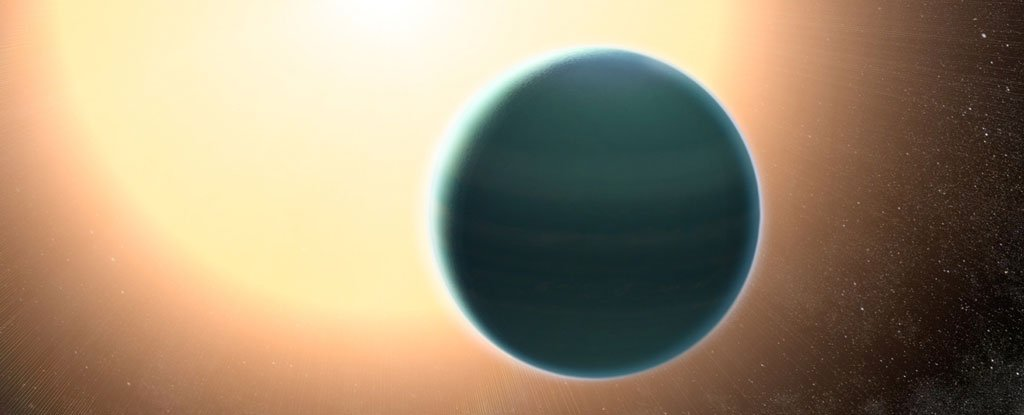 A Strange, Primitive Atmosphere Has Been Discovered Around a Water-Rich Alien World