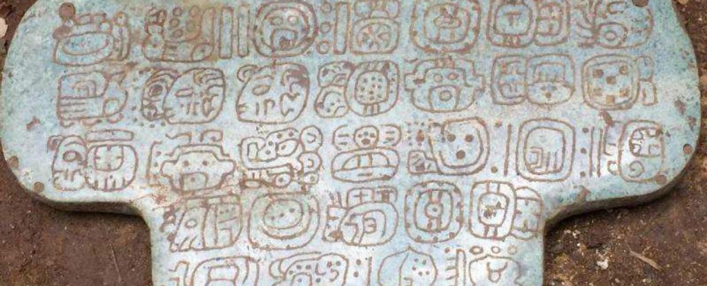Discovery of a Huge, Mysterious Jade Pendant Could Rewrite Maya History