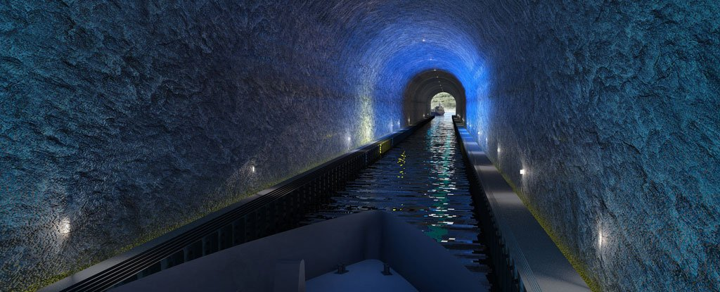 Norway Is Building The World S Biggest Tunnel For Ships