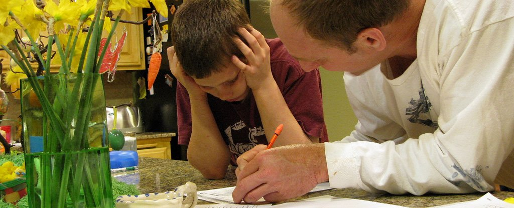 Parents Helping Too Much With Homework Could Be Undermining Their Kids