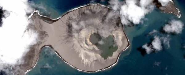 This Pacific island appeared only 3 years ago, and could be doomed already