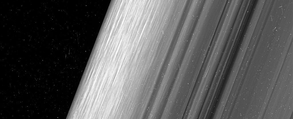 NASA Just Captured Some of The Most Mind-Blowing Images of Saturn's Icy Rings Ever