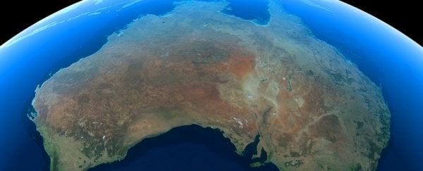 the australian continent is shifting its position every single season