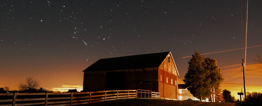You Can Thank The Physics Inside Dying Stars For Fact That Barns Are Red