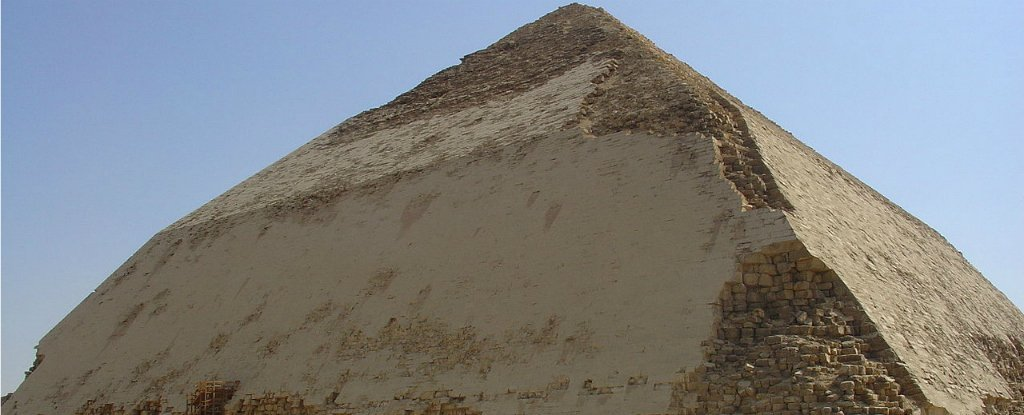 Cosmic Particles Collected Inside Egyptian Pyramid Could Reveal How It Was Built