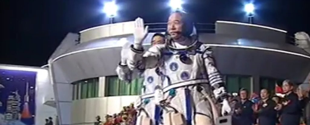 astronauts in space china - photo #42