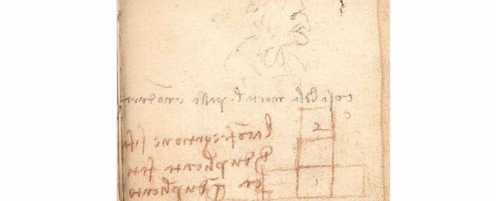 Engineer Finds a Huge Physics Discovery in Da Vinci's 'Irrelevant Scribbles'