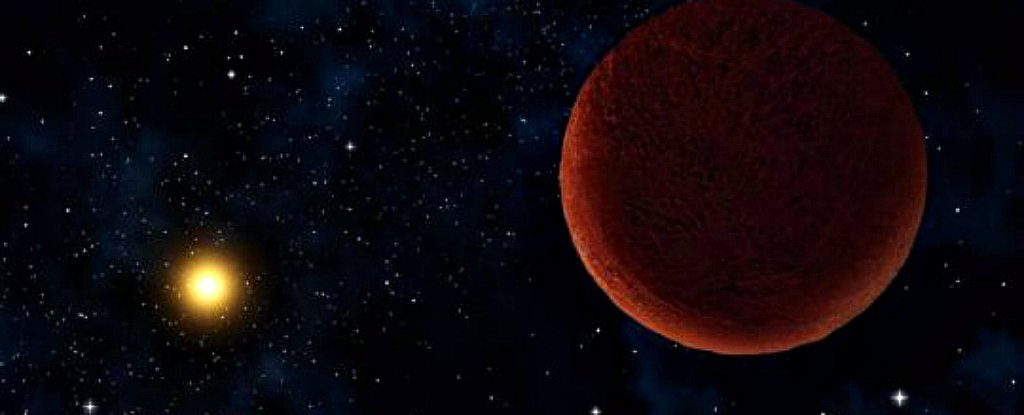 Astronomers Have Discovered a Sizeable Object Lurking at The Edge of Our Solar System