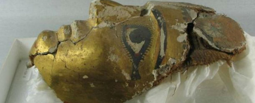 Ancient Biblical Text Discovered in an Egyptian Mummy Mask