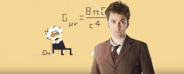 Let the 10th Doctor teach you Einstein's general relativity in 3 minutes