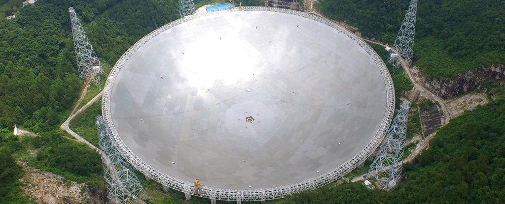 World's Newest Ridiculously Big Radio Telescope Has Made Its First Discovery