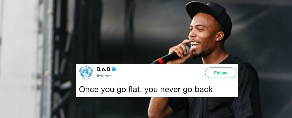 Yep, Rapper B.o.B Is Crowdfunding Satellites to Prove Earth Is Flat