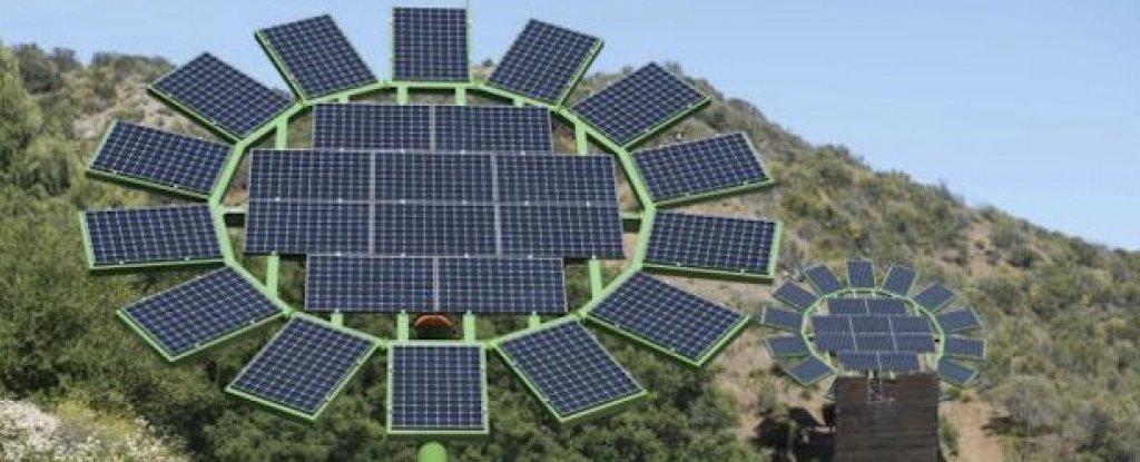 James Cameron Has Created Giant Solar Flowers That Track The Sun