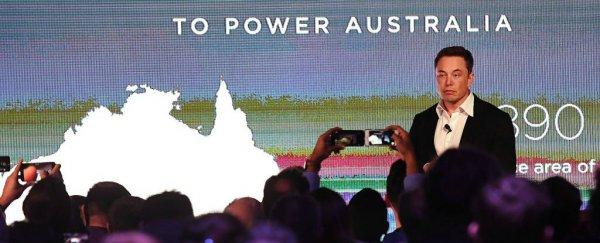 Elon Musk just met that 100-day deadline to get Australia a giant Tesla battery