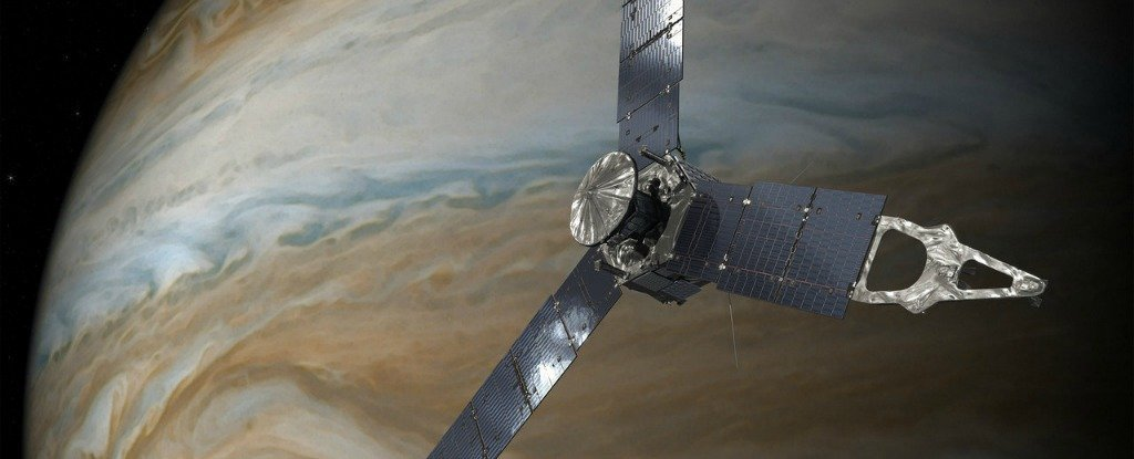 NASA Will Purposefully Crash Juno to Protect Alien Life