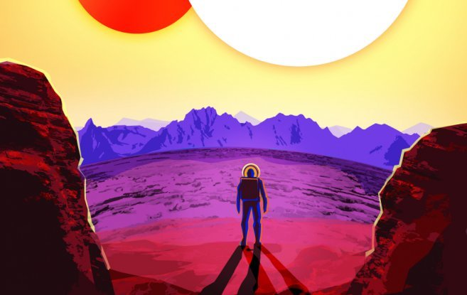 These Nasa Travel Posters Advertise Life On Exoplanets And They Re Incredible