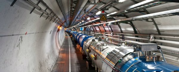 A physicist has a new hypothesis to explain the LHC's mysterious results
