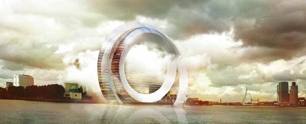 This Dutch Windwheel Holds 72 Apartments And Could Power an Entire Town