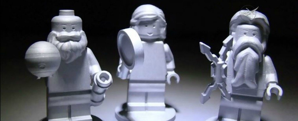 There Are Now Three Lego Figures Orbiting Jupiter