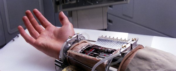 Researchers have made a prosthetic arm based off Luke Skywalker's