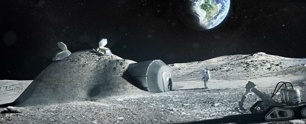 Moon villages like this could be a reality in less than 20 years