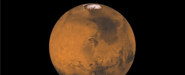 Mars is finally emerging from an ice age that ended 400,000 years ago
