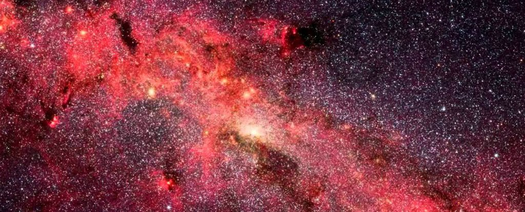 Astronomers Just Discovered a Strange Void Near The Centre of The Milky Way