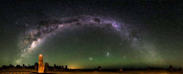 Happy Galactic Tick Day! You just moved around the Milky Way