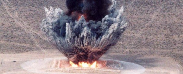 Here's 5 of the most explosive non-nuclear chemicals ever made