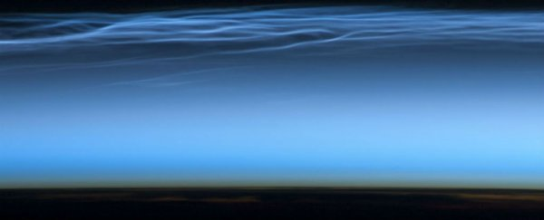Strange, electric blue clouds have appeared over Antarctica way earlier than expected