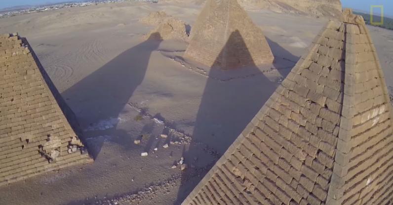 Ancient Pyramids - Magazine cover