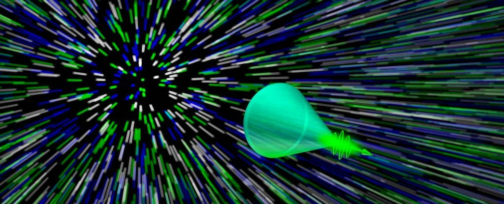Scientists Have Filmed a 'Sonic Boom' of Light For The First Time