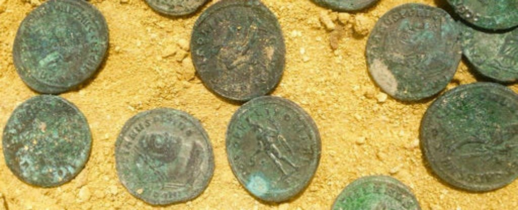 Spanish Builders Just Uncovered 1,300 Lb of Ancient Roman Coins