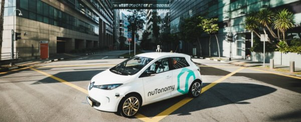 Singapore just became the first country to have self-driving taxis