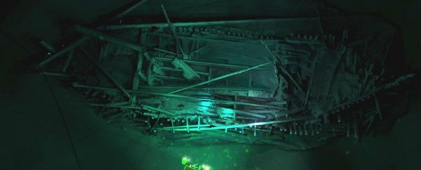 Dozens of ancient shipwrecks have been spotted beneath the Black Sea
