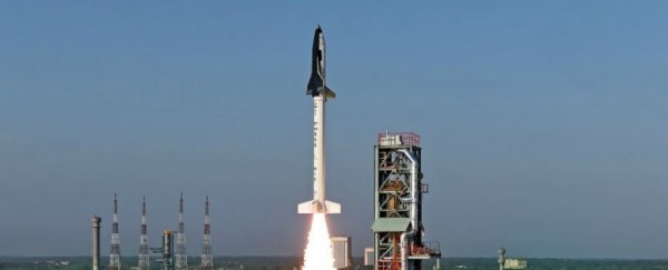 India just launched a mini space shuttle, and is now officially in the reusable rockets game