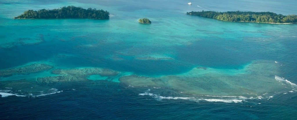 Five Islands Have Disappeared Into The Pacific Ocean And