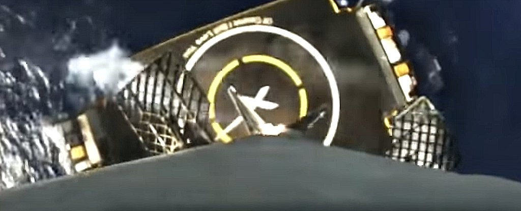 This Footage of Friday's Perfect SpaceX Landing Is Simply Incredible