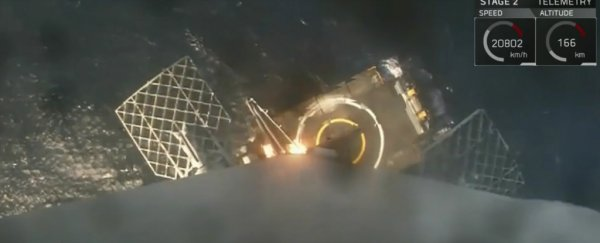 WATCH: SpaceX just nailed a rocket landing, and is officially back in business