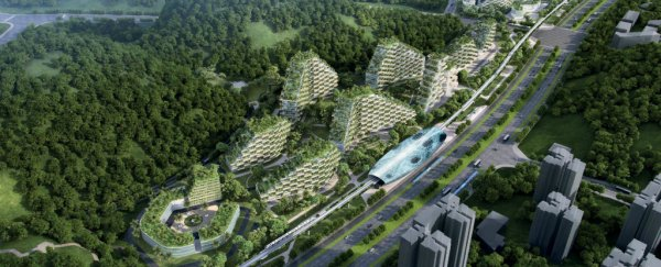 China Has Officially Started Building the World's First 'Forest City'