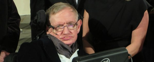 "Stephen Hawking says most of our history is ""the history of stupidity"""