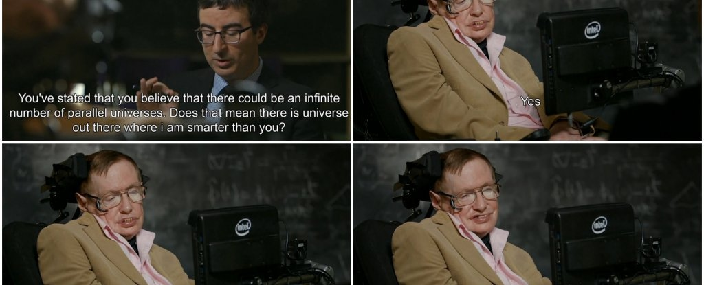 WATCH: Stephen Hawking's Best Interview Ever