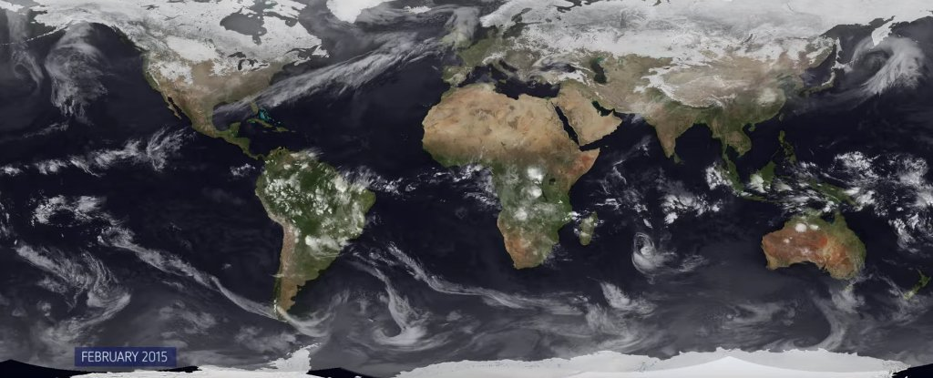 WATCH: Here's a Whole Year's Worth of Weather in One Video